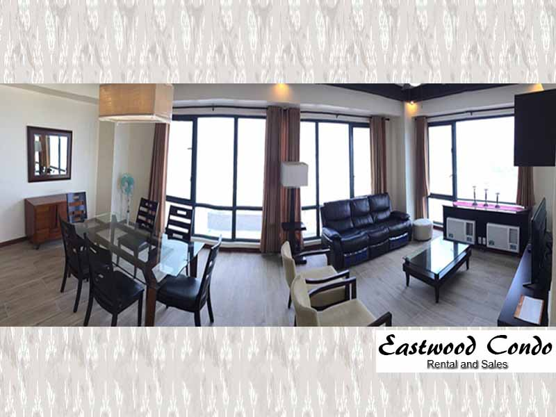 CONDO RENTAL ONE MONTH STAY: Spacious Fully Furnished Three Bedroom in Eastwood