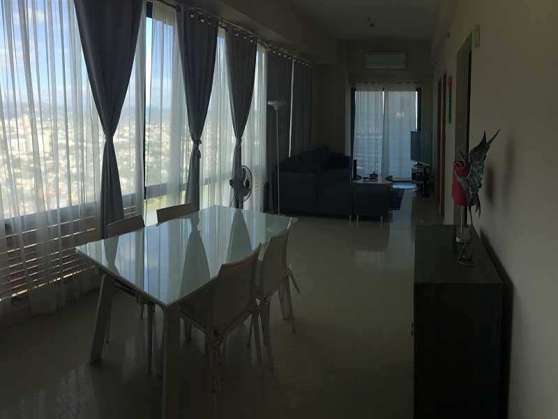 FOR RENT: Furnished One Bedroom Condo with balcony in Eastwood Park Residences